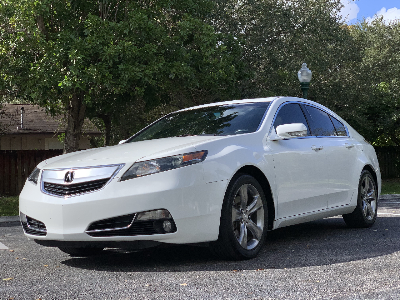 Acura TL 6-Speed AT SH-AWD with Tech Package and HPT 2012