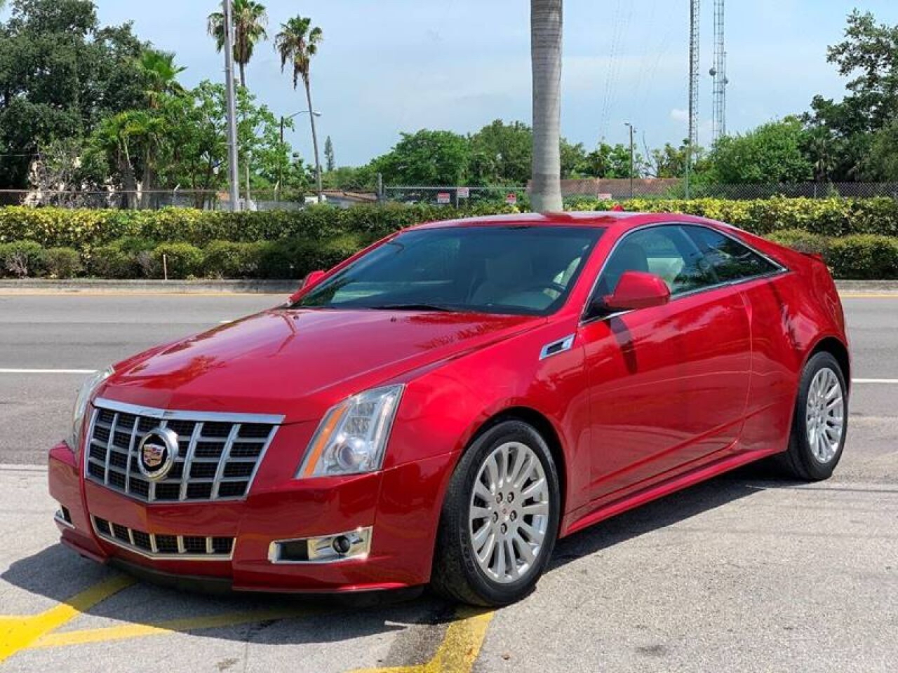 Cadillac CTS Performance Coupe 2012
