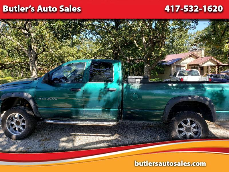 Dodge Ram 2500 SLT Quad Cab Long Bed 4WD 2003