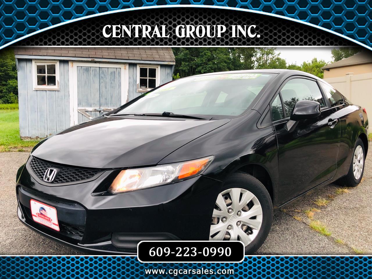 Honda Civic Cpe 2dr Auto LX 2012