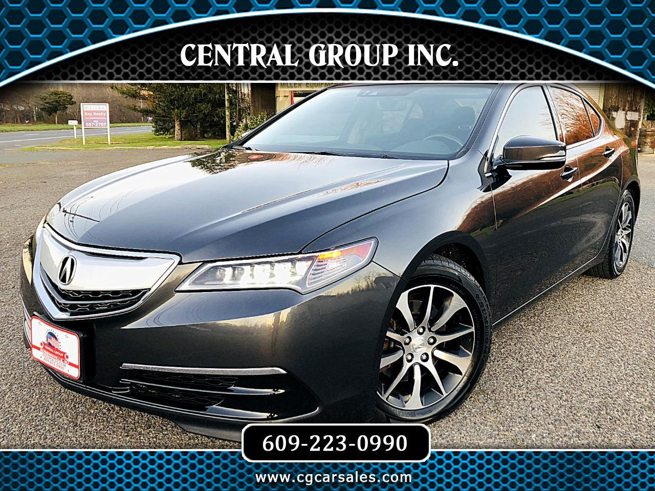 Acura TLX 4dr Sdn FWD Tech 2015
