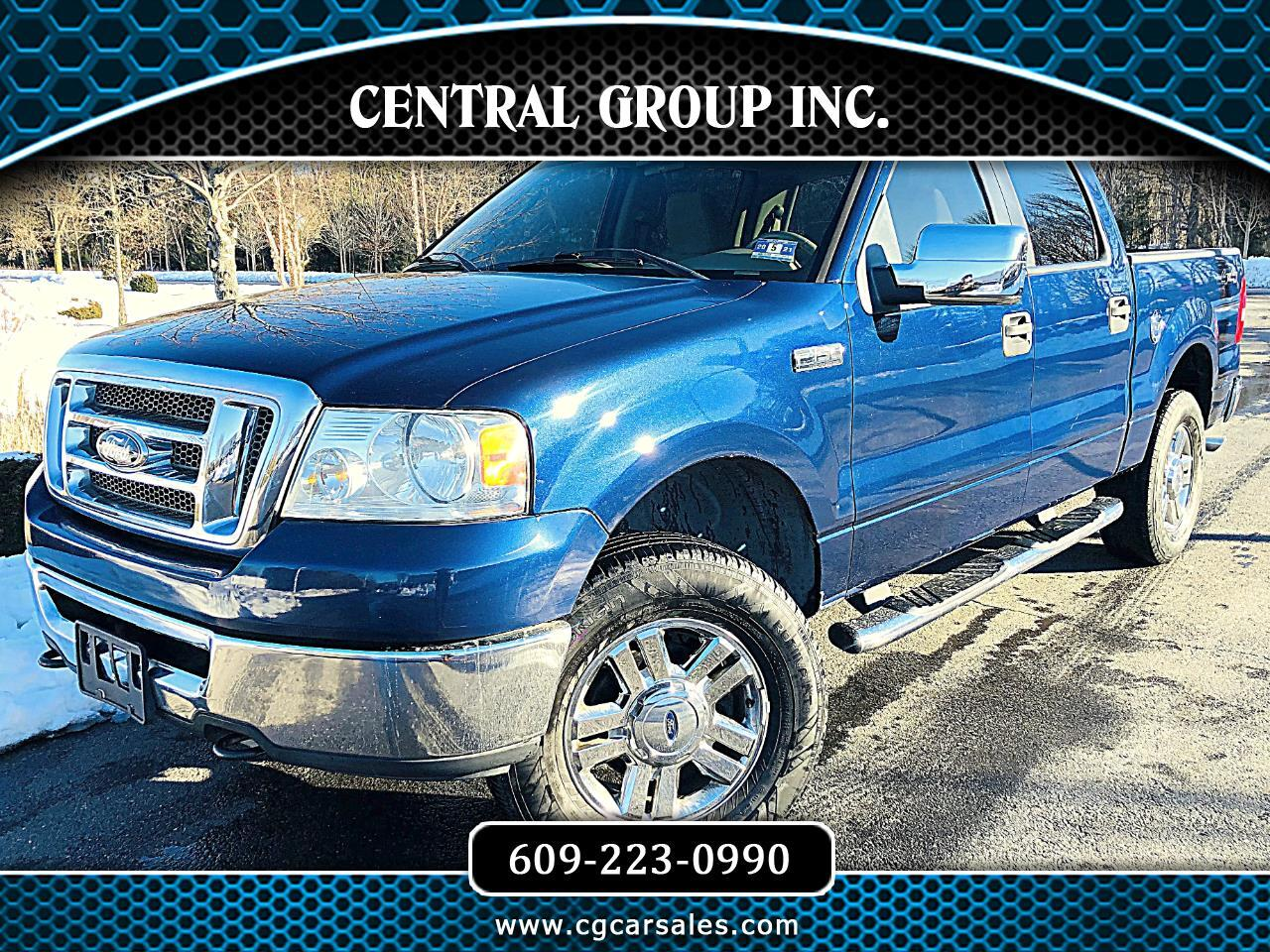 "Ford F-150 4WD SuperCrew 150"" XLT 2007"