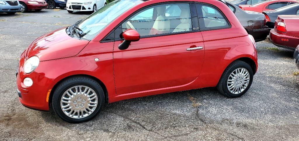 Fiat 500 C Pop 2012