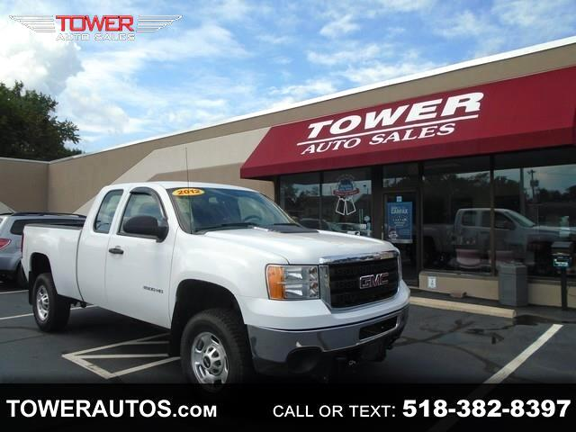 "2012 GMC Sierra 2500HD 4WD Ext Cab 144.2"" Work Truck"