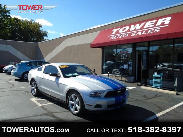 Tower Auto Sales >> Used 2012 Ford Mustang 2dr Cpe V6 Premium For Sale In