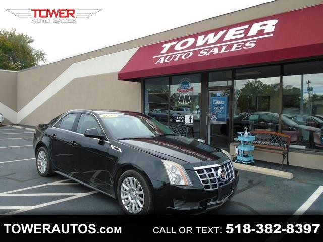 Cadillac CTS Sedan 4dr Sdn 3.0L Luxury RWD 2013