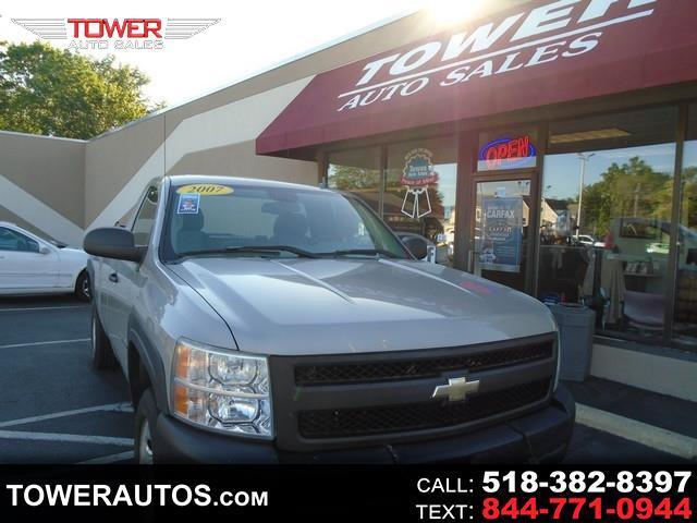 """Chevrolet Silverado 1500 4WD Reg Cab 133.0"""" Work Truck 2007"""