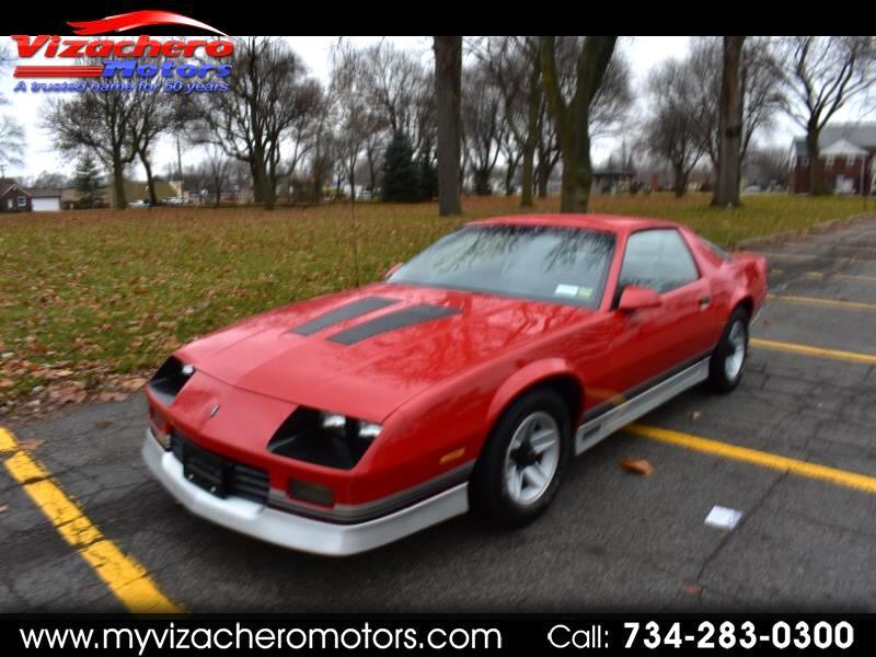1987 Chevrolet Camaro 2dr Coupe Z28