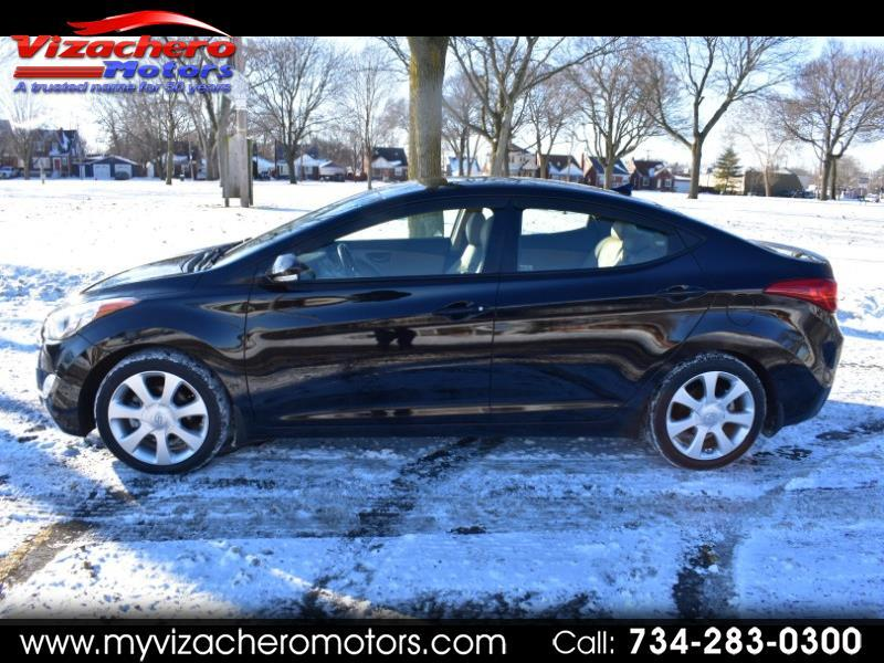 2013 Hyundai Elantra 4 DR SEDAN LIMITED