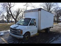 2001 Chevrolet Express Commercial Cutaway