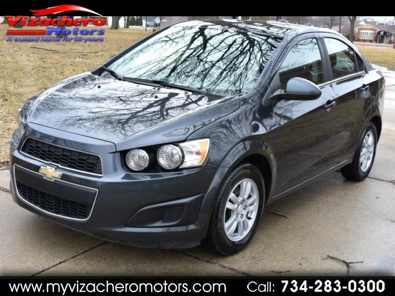 Chevrolet Sonic 4dr Sdn Auto LT 2015