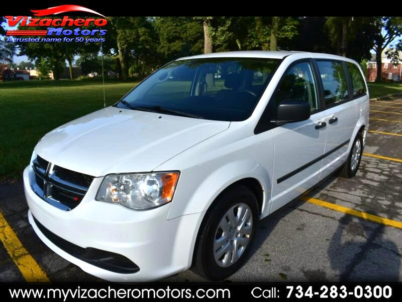 Dodge Grand Caravan 4dr Wgn American Value Pkg 2013