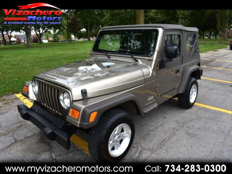 2006 Jeep Wrangler 2dr SE