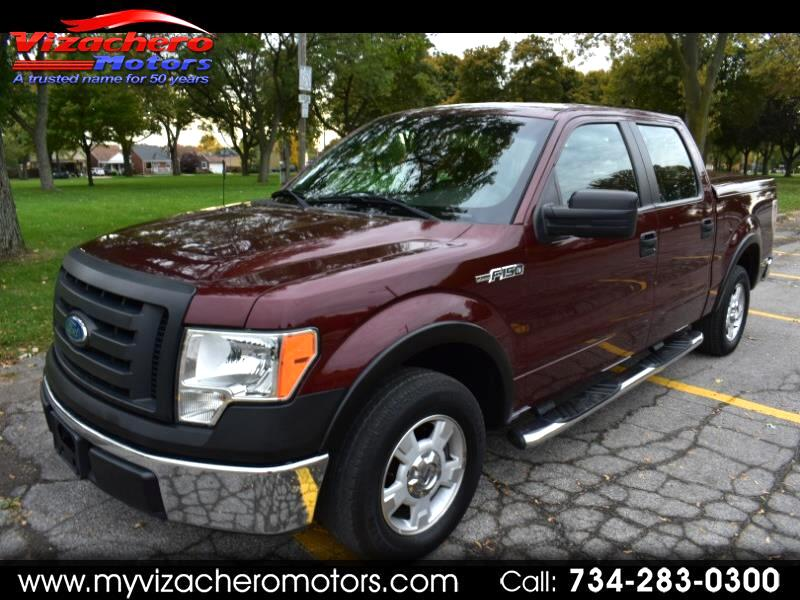 "Ford F-150 2WD SuperCrew 145"" XLT 2009"