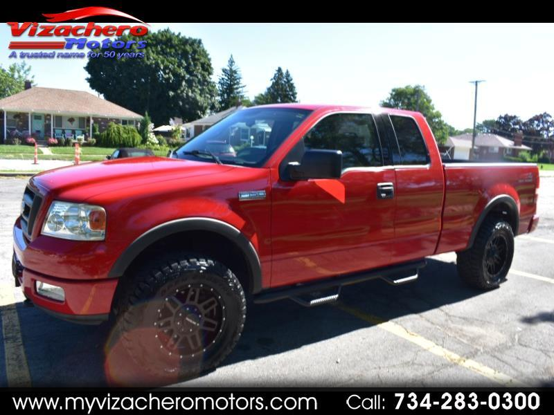 """Ford F-150 Supercab 145"""" FX4 4WD 2004"""