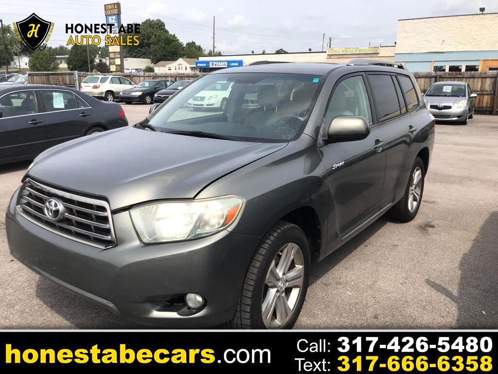 2008 Toyota Highlander For Sale >> Used 2008 Toyota Highlander Sport 4wd For Sale In