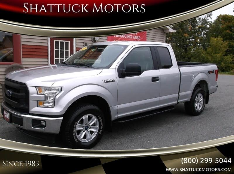 Ford F-150 Lariat SuperCab 8-ft. 4WD 2017