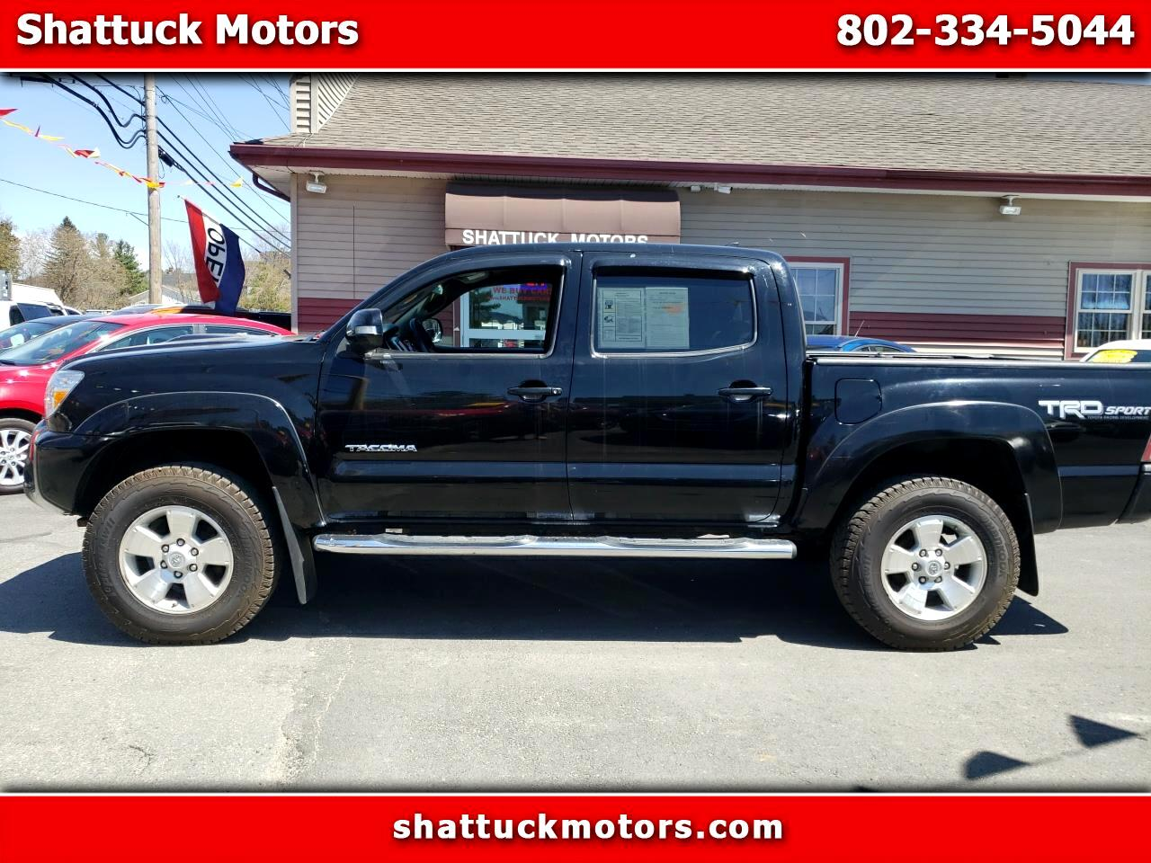 Toyota Tacoma 4WD Double Cab LB V6 AT TRD Sport (Natl) 2014