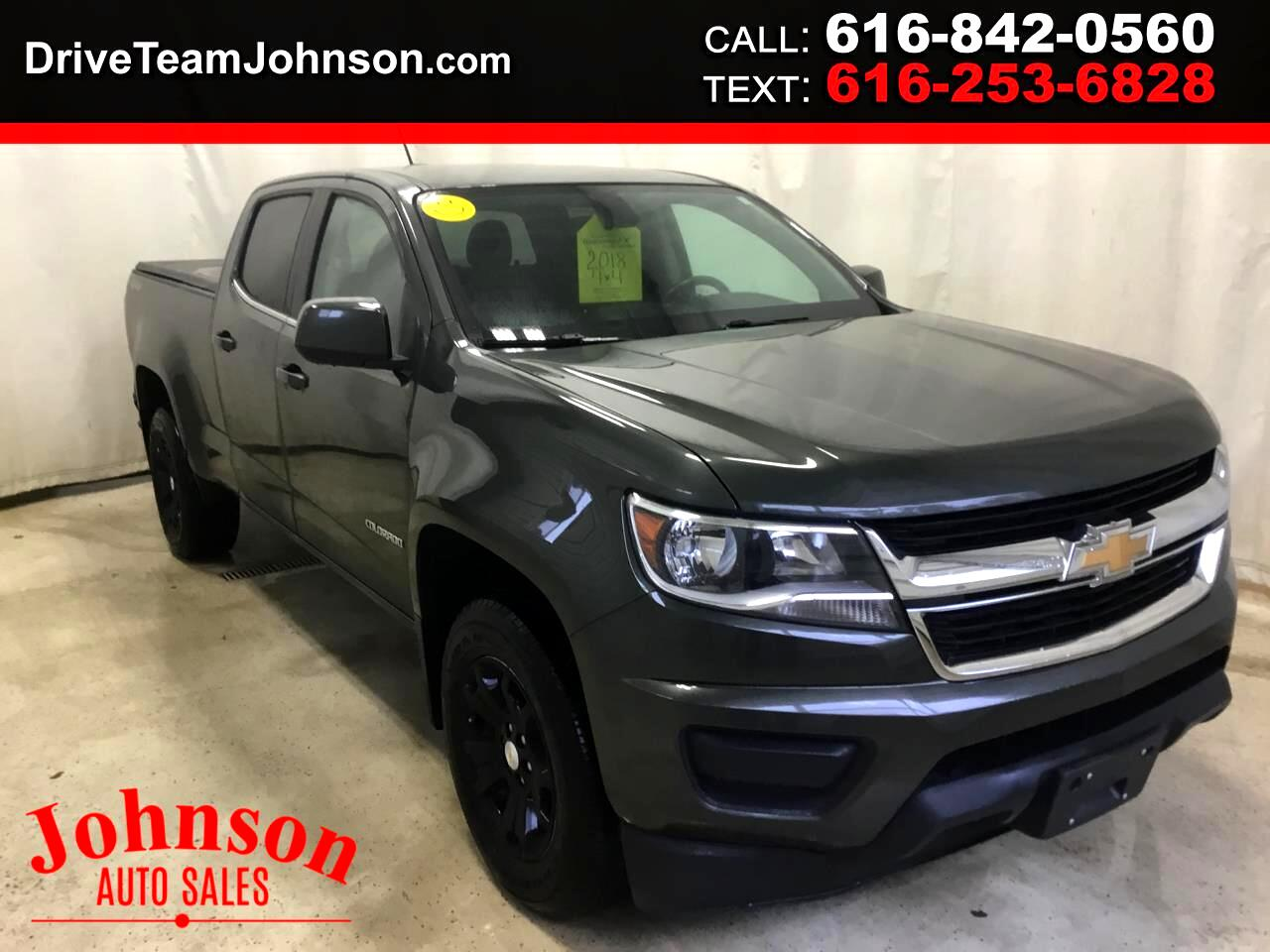 Chevrolet Colorado 2LT Crew Cab 4WD 2018
