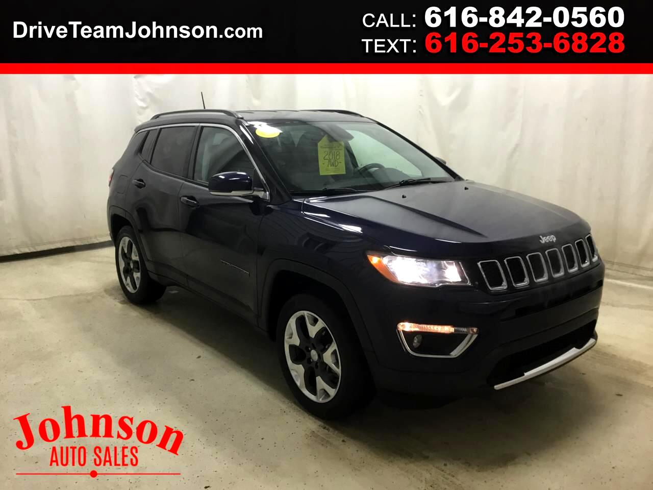 Jeep Compass Limited 4x4 2018