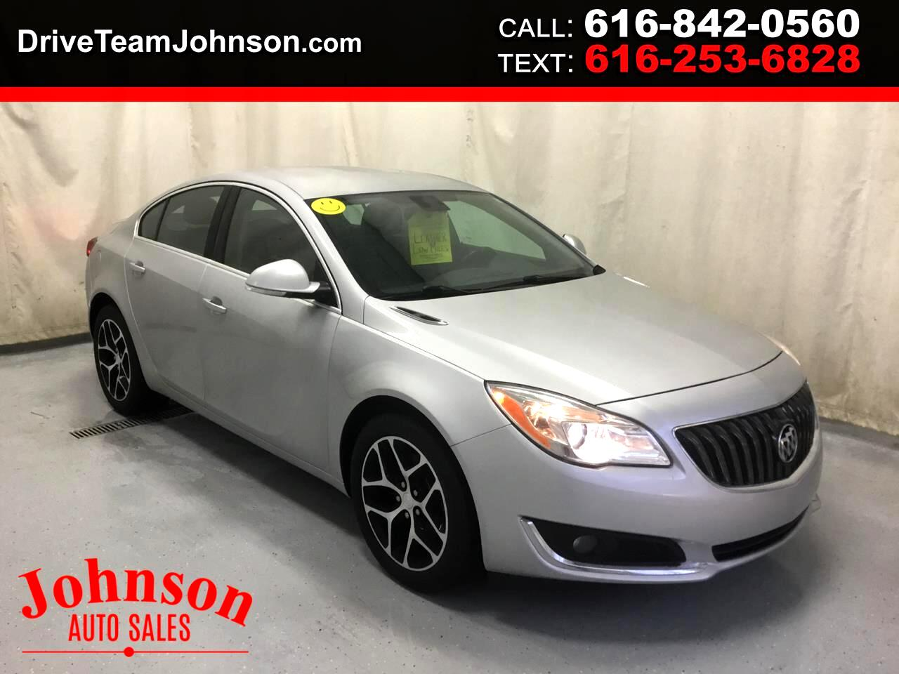 Buick Regal 4dr Sdn Sport Touring FWD 2017