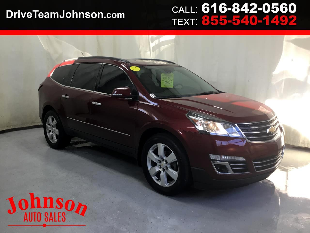 Chevrolet Traverse AWD 4dr LTZ 2016