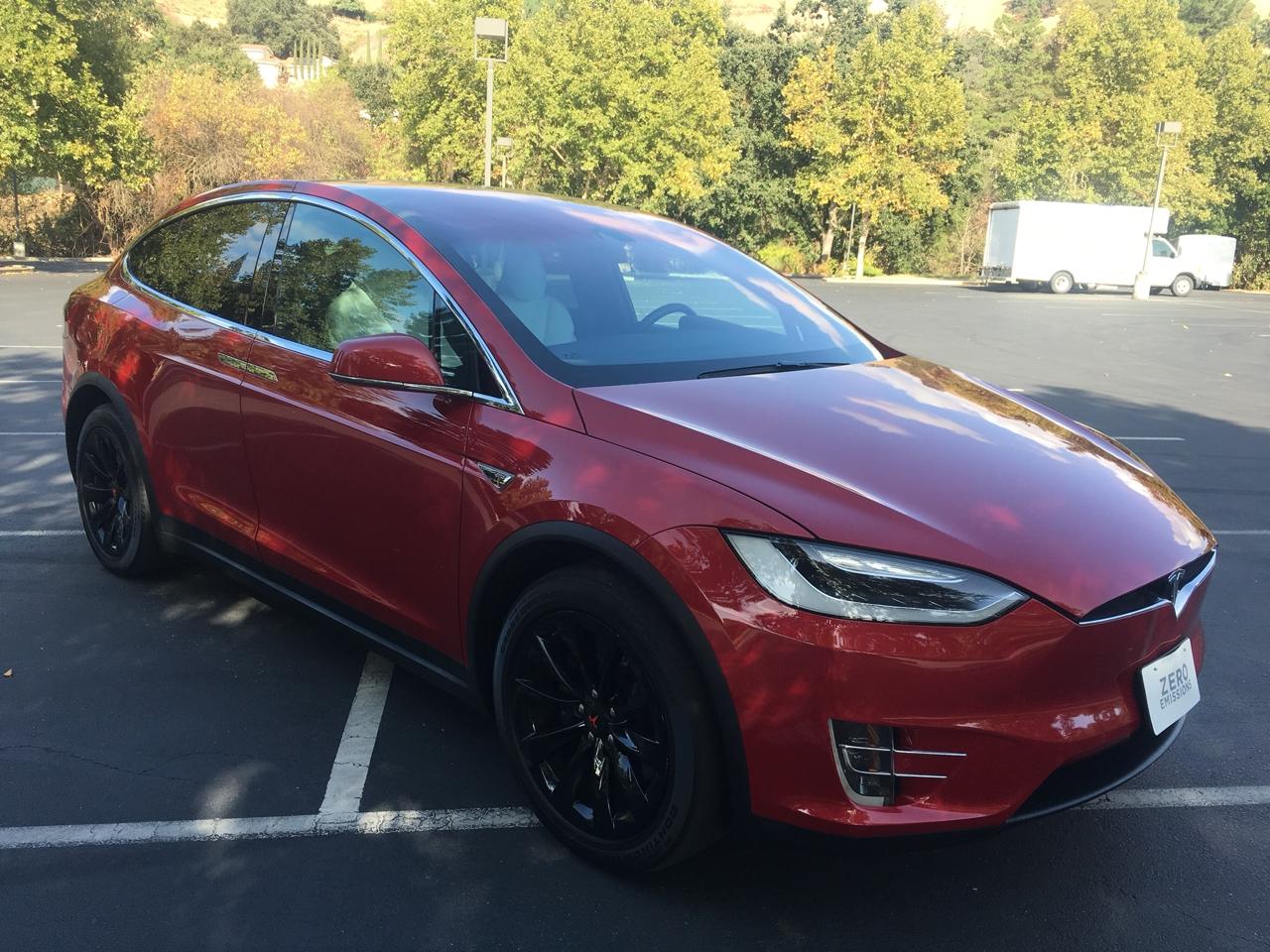 Tesla Model X AWD 4dr P100D 2016