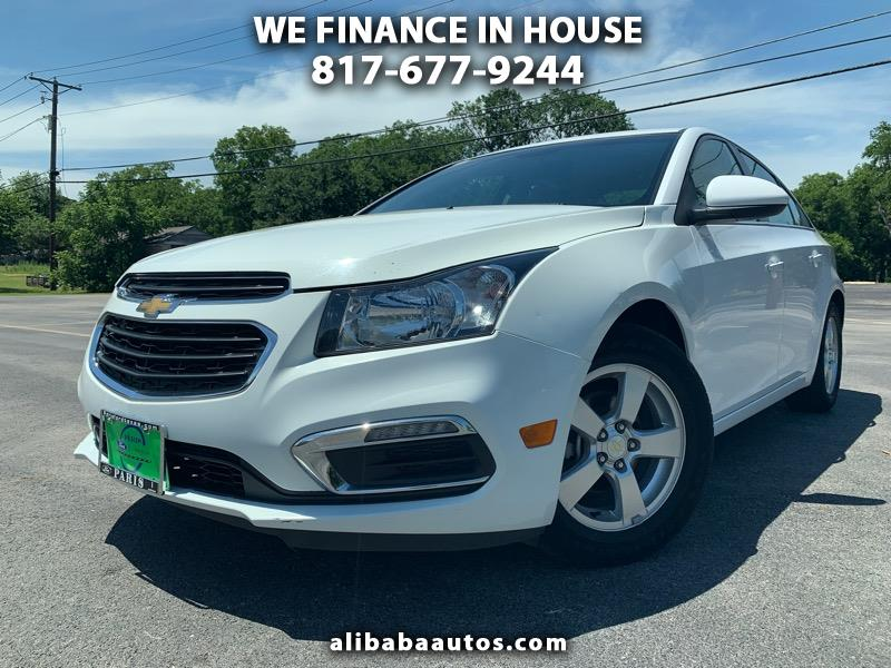 Buy Here Pay Here Arlington >> Buy Here Pay Here 2015 Chevrolet Cruze 1lt Auto For Sale In