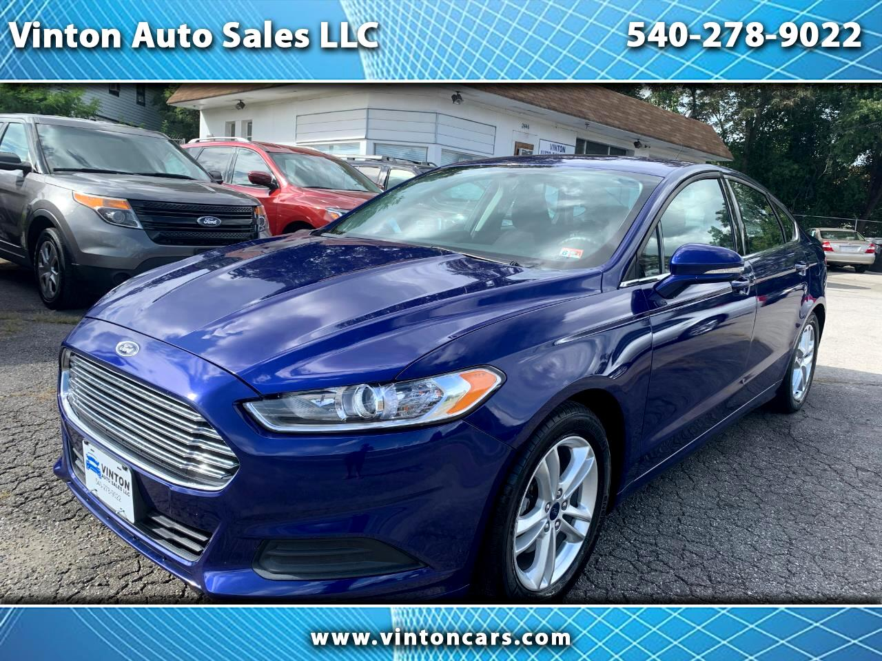 Ford Fusion 4dr Sdn SE FWD 2016