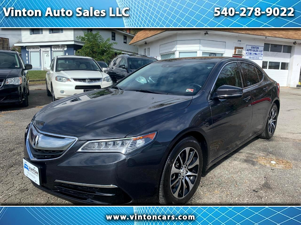 Acura TLX 4dr Sdn FWD Tech 2016