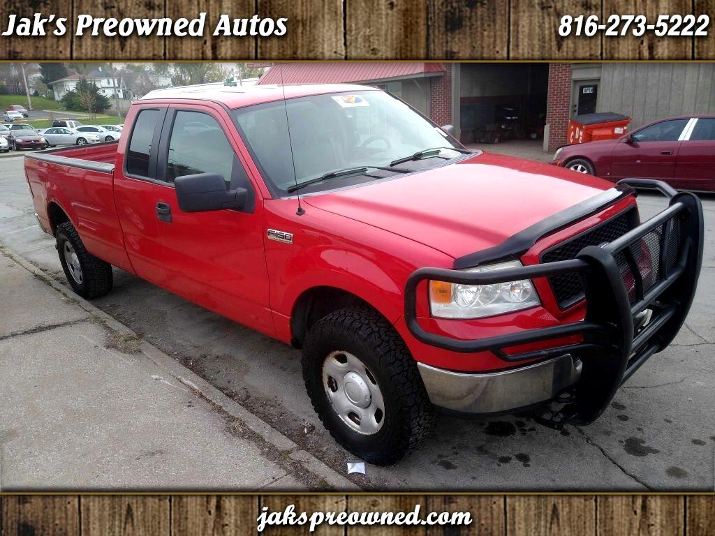 Ford F-150 XL SuperCab Long Bed 4WD 2005