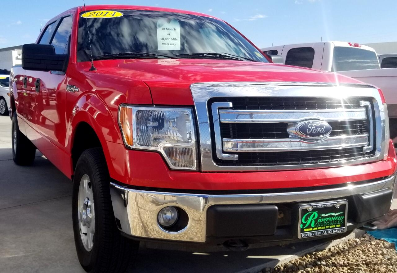 Ford F-150 Platinum SuperCrew 6.5-ft. Bed 4WD 2014