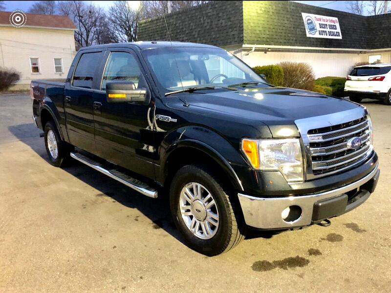 Ford F-150 SuperCrew 4WD 2013