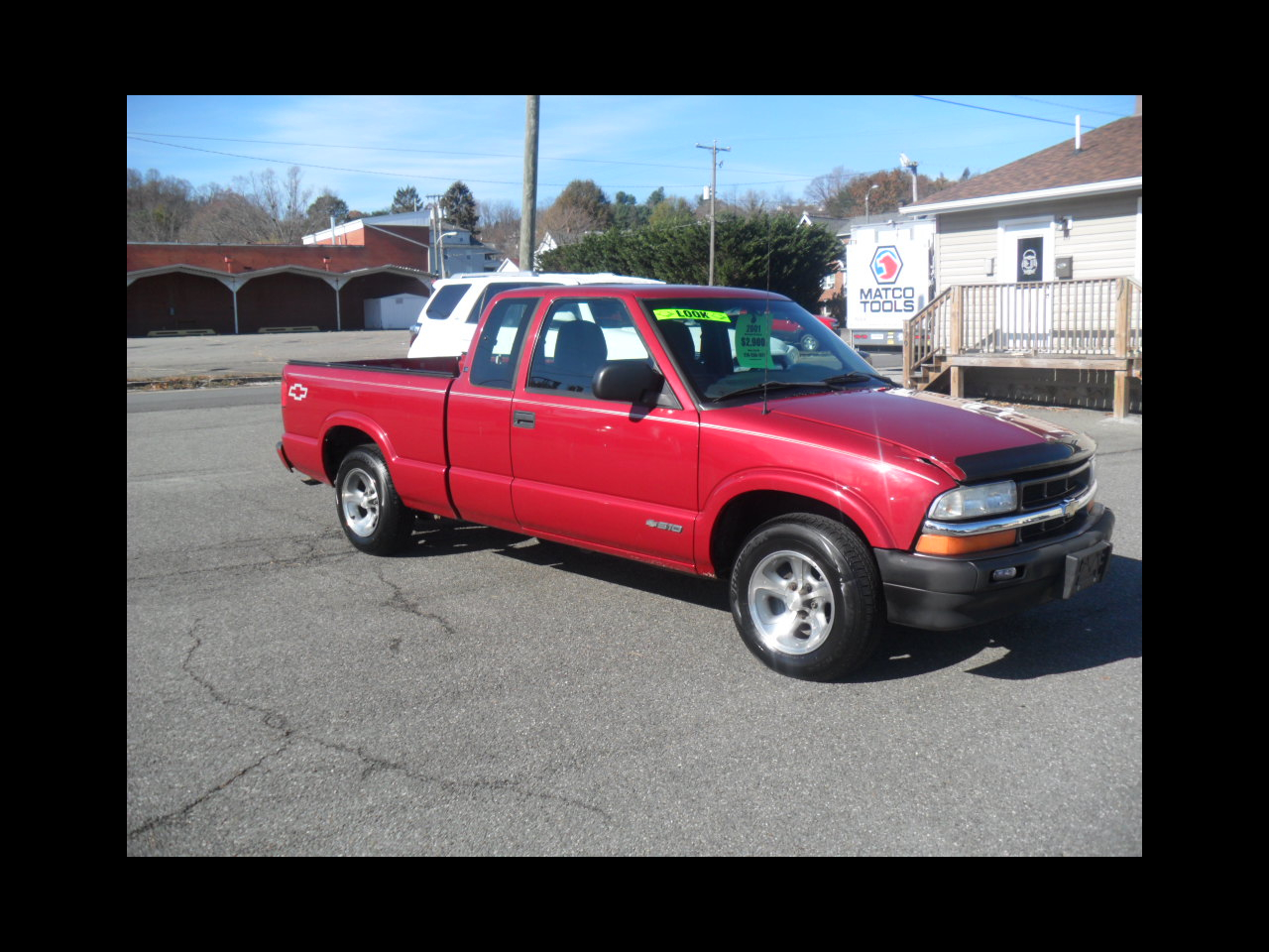 Chevrolet S10 Pickup Ext. Cab 2WD 2001