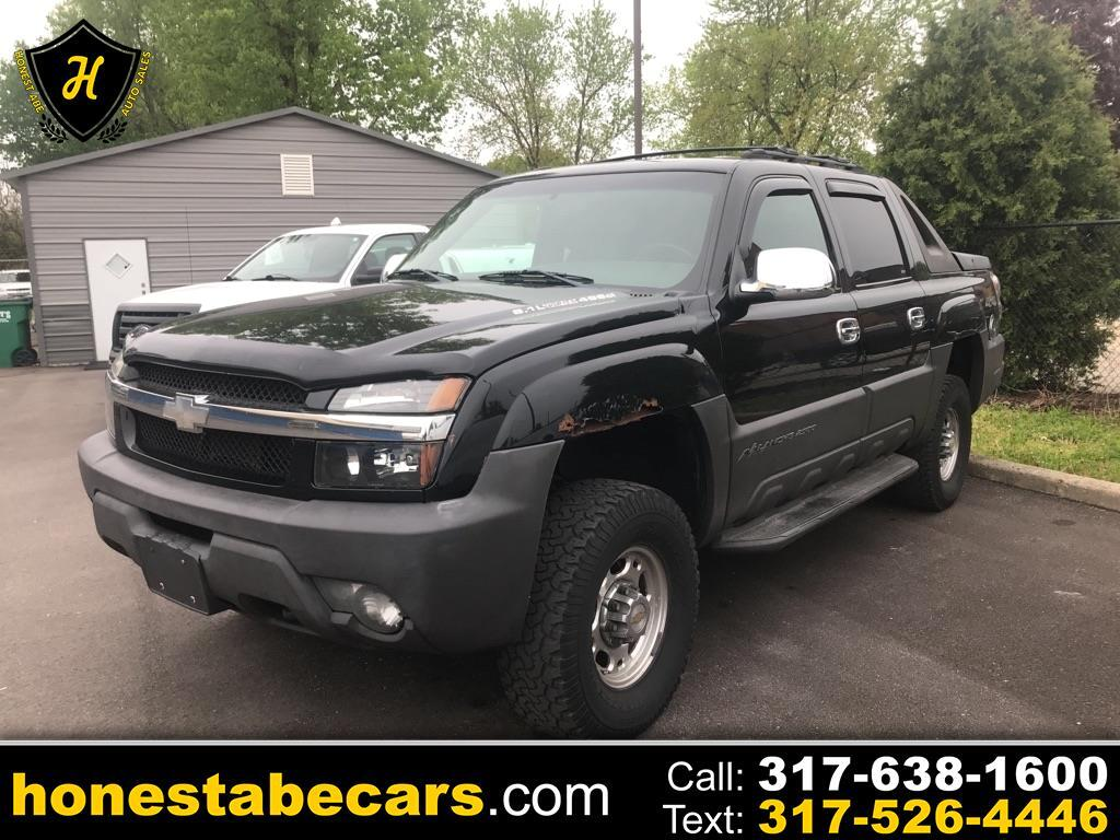 "Chevrolet Avalanche 2500 5dr Crew Cab 130"" WB 4WD 2003"