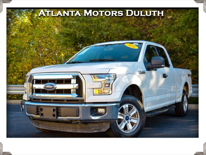 "Ford F-150 4WD SuperCab 163"" XLT 2016"