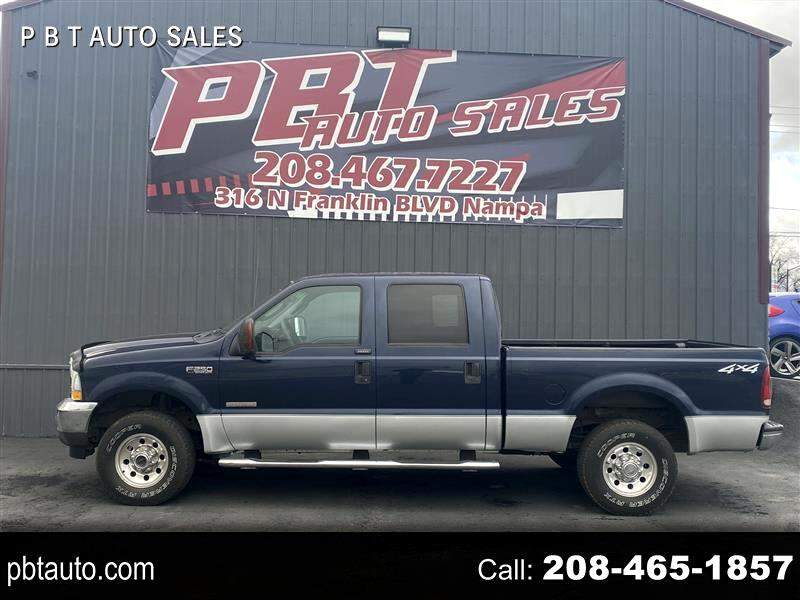 Ford F-250 SD XL Crew Cab 4WD 2004