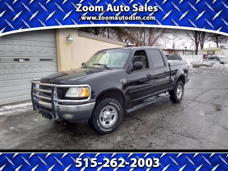 """Ford F-150 4WD SuperCab 145"""" Lariat 2001"""