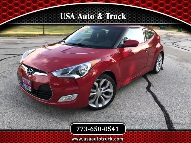Hyundai Veloster 3dr Cpe Man w/Black Int 2013