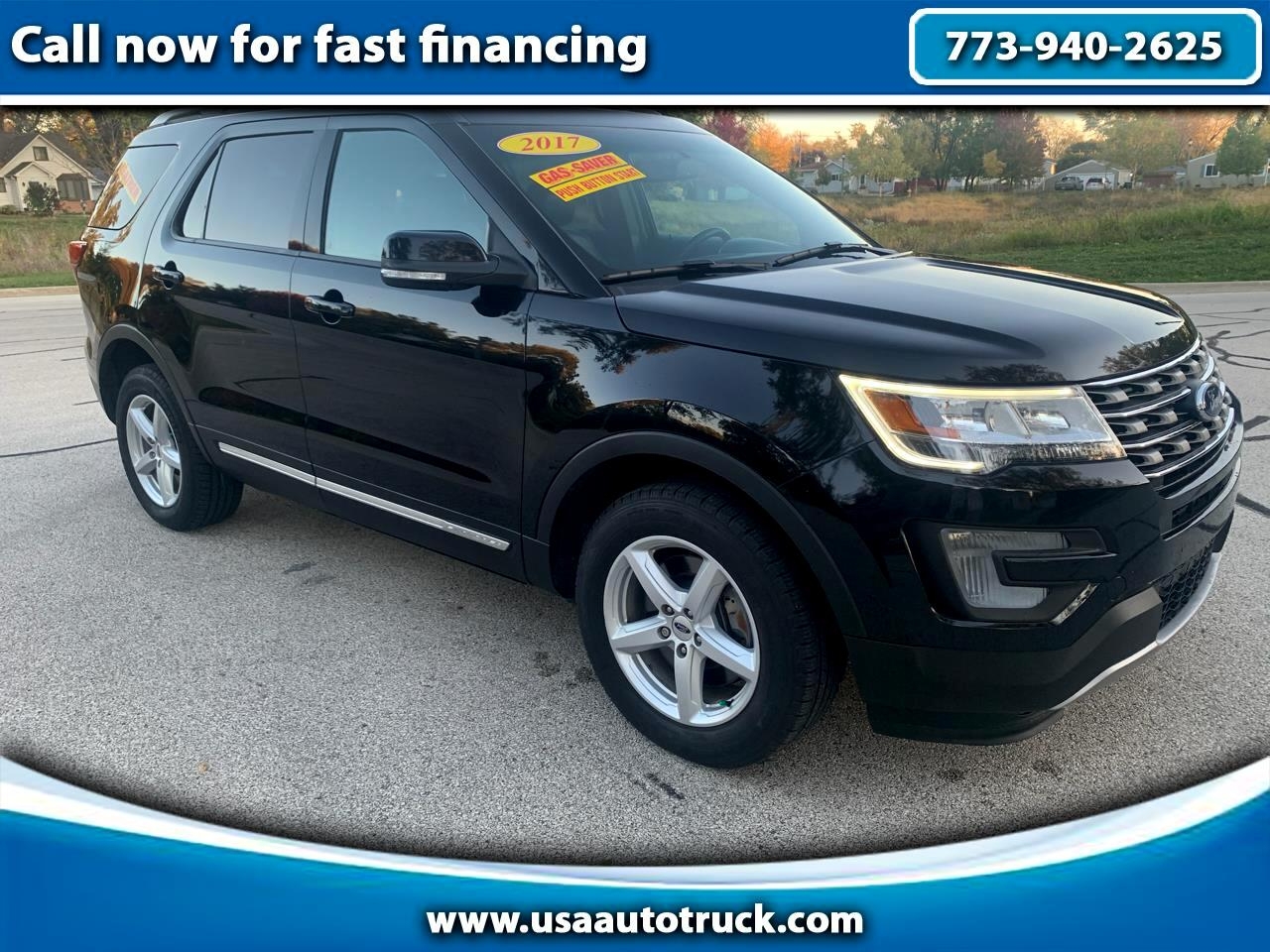 "Ford Explorer 4dr 112"" WB XLT AWD 2017"