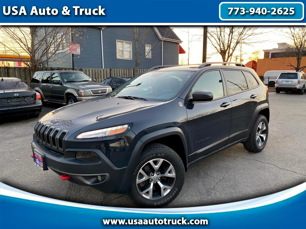Jeep Cherokee Trailhawk 4x4 *Ltd Avail* 2017