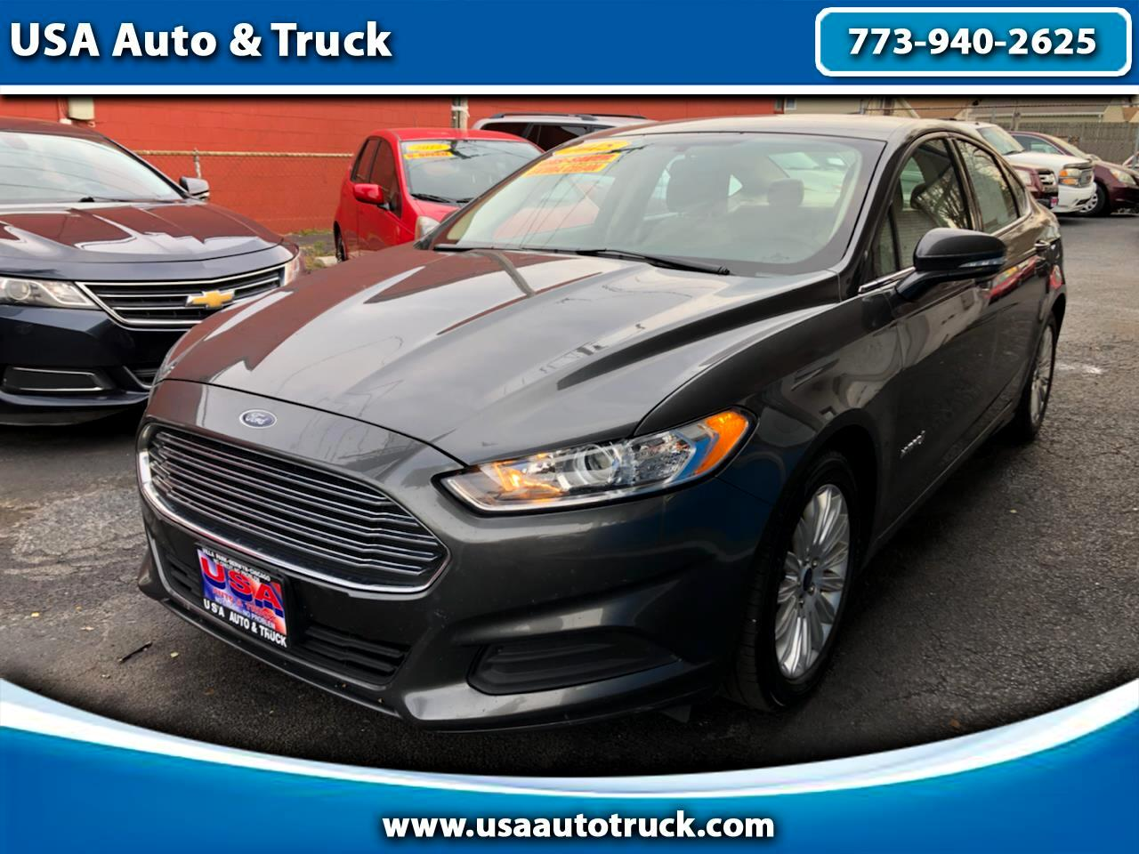 Ford Fusion 4dr Sdn SE Hybrid FWD 2015