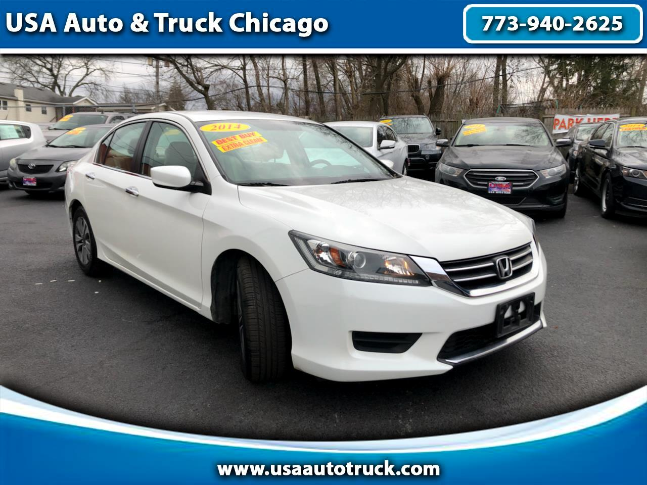 Honda Accord Sedan 4dr I4 CVT LX 2014