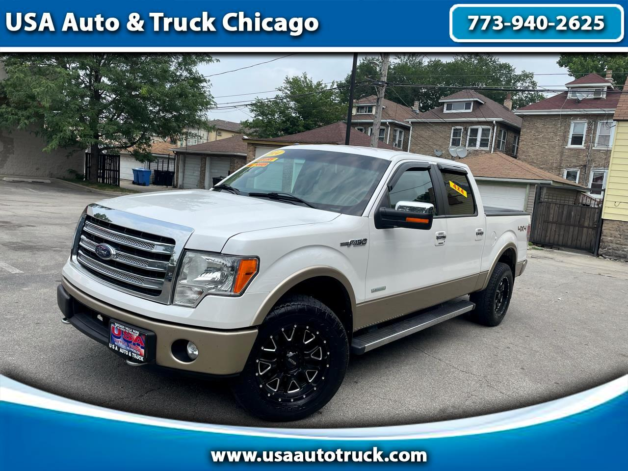 """Ford F-150 4WD SuperCab 133"""" Lariat 2014"""