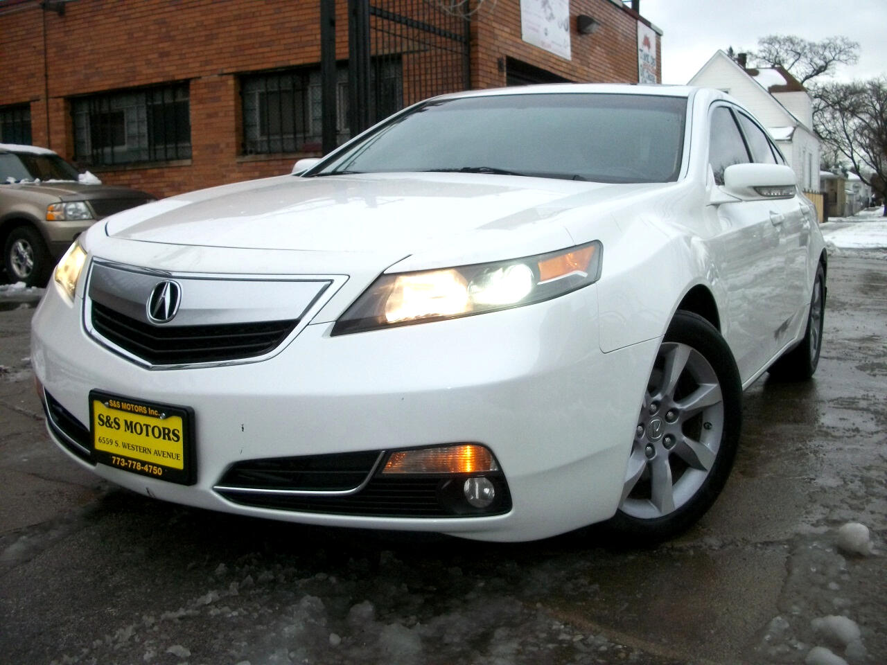 Acura TL 6-Speed AT 2012