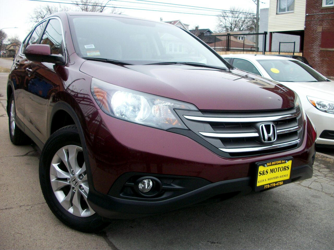 Honda CR-V EX 4WD 5-Speed AT 2013