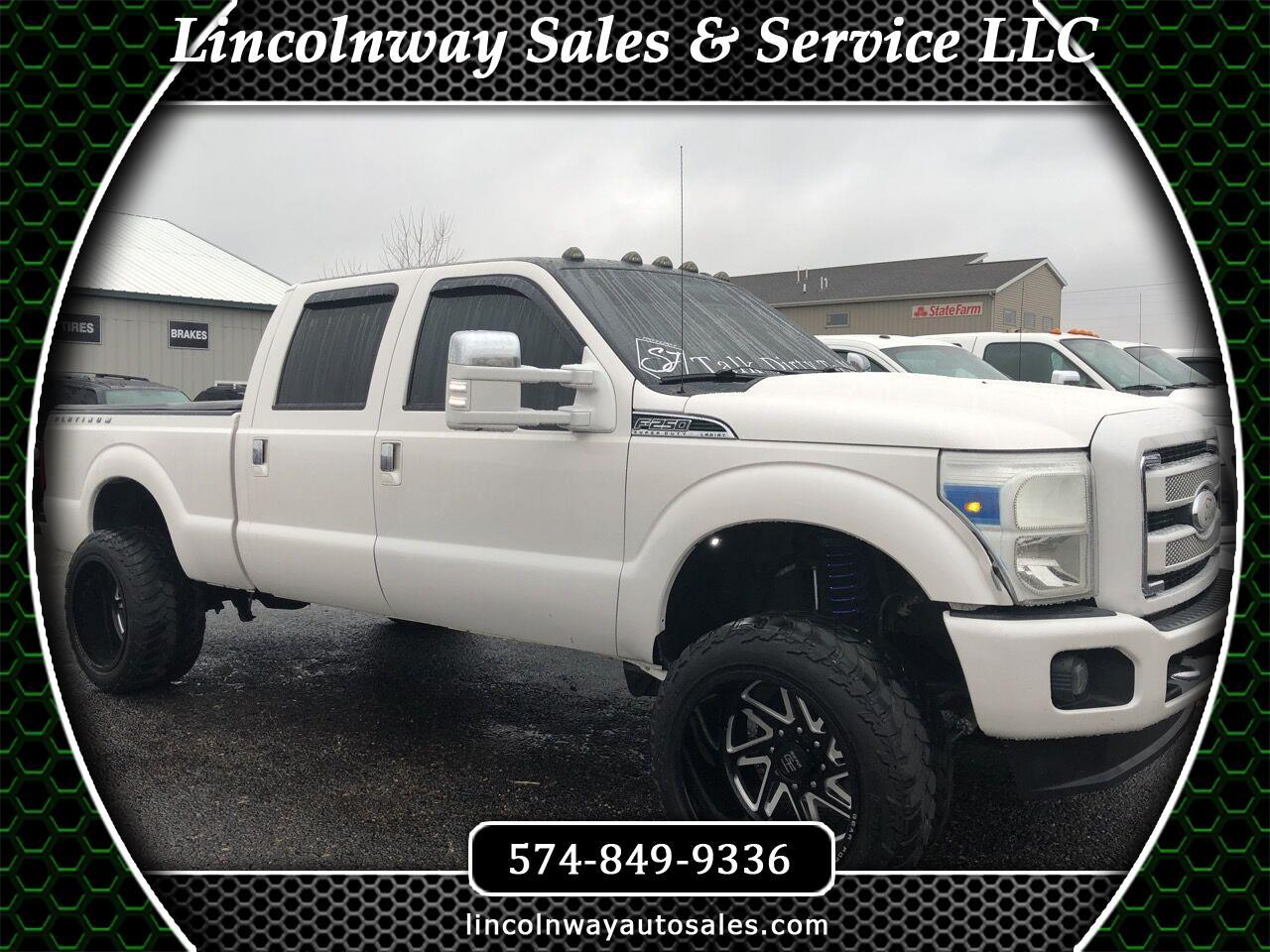 2015 Ford F250 For Sale >> Used 2015 Ford F 250 Sd Platinum Crew Cab 4wd For Sale In