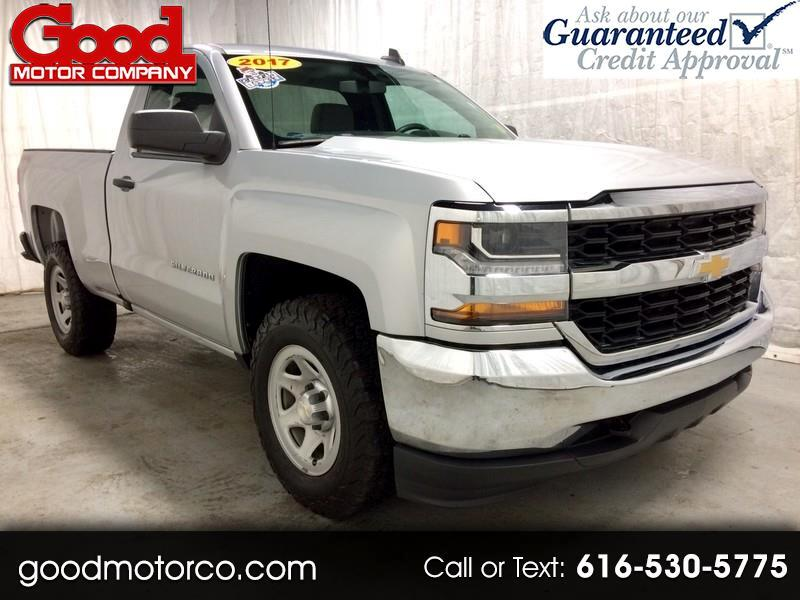 Chevrolet Silverado 1500 Work Truck Short Box 4WD 2017