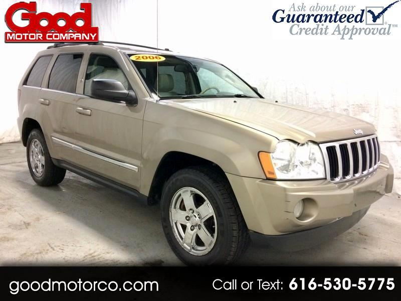 Jeep Grand Rapids >> Used 2006 Jeep Grand Cherokee Limited 4wd For Sale In Grand