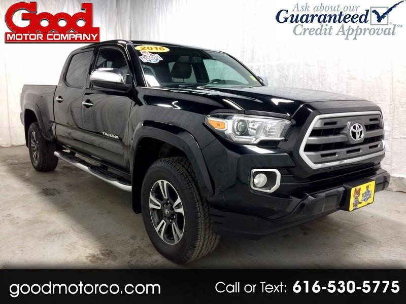 Toyota Tacoma Limited Double Cab Super Long Bed V6 5AT 4WD 2016